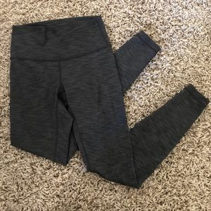 Heather grey lululemon leggings size 4